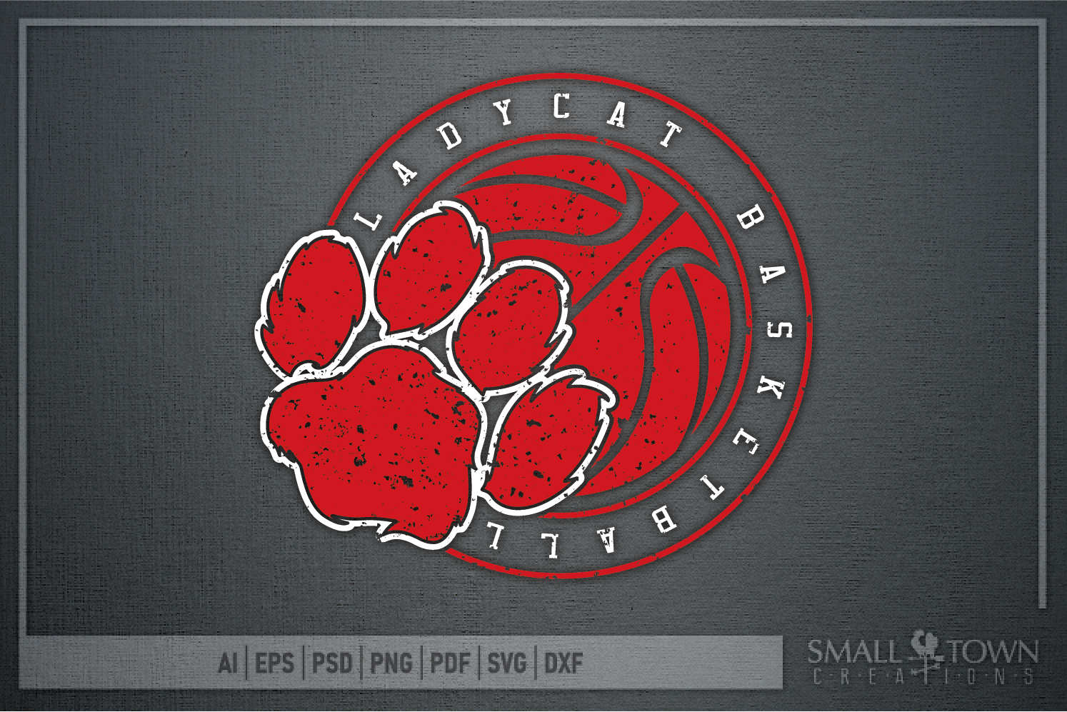 Ladycat, Basketball, Team, Sport, Design, PRINT, CUT, DESIGN example image 10
