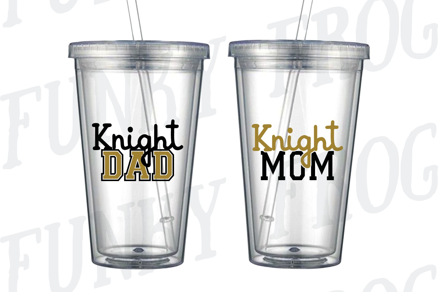 Knight Dad and Knight Mom SVG Cut File for Crafters example image 6