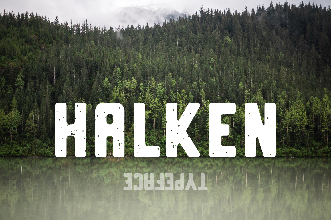 Halken Typeface example image 1