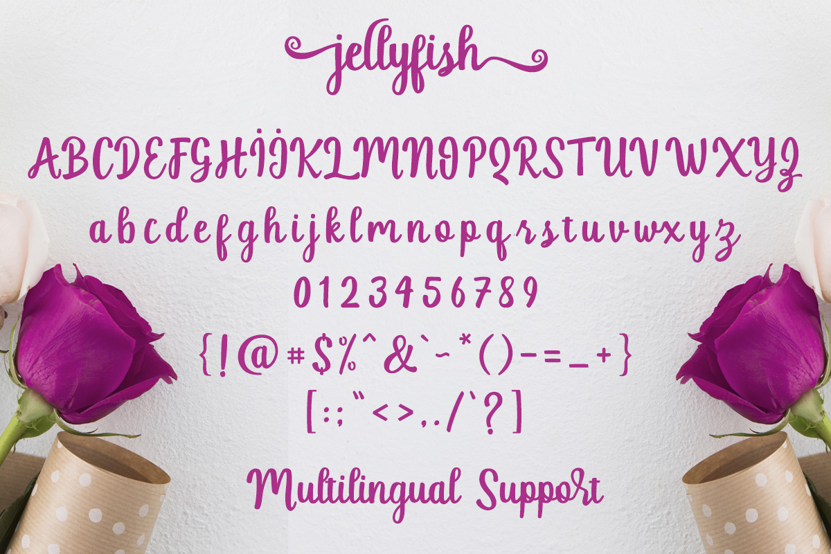 Jellyfish Script example image 9