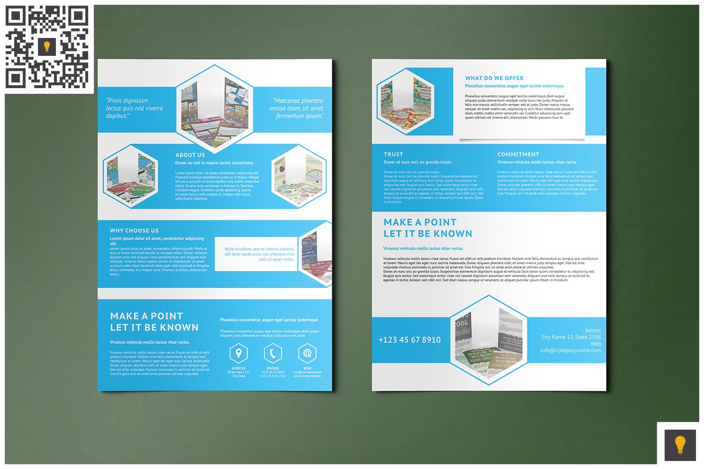 Corporate Hive Print Bundle example image 8