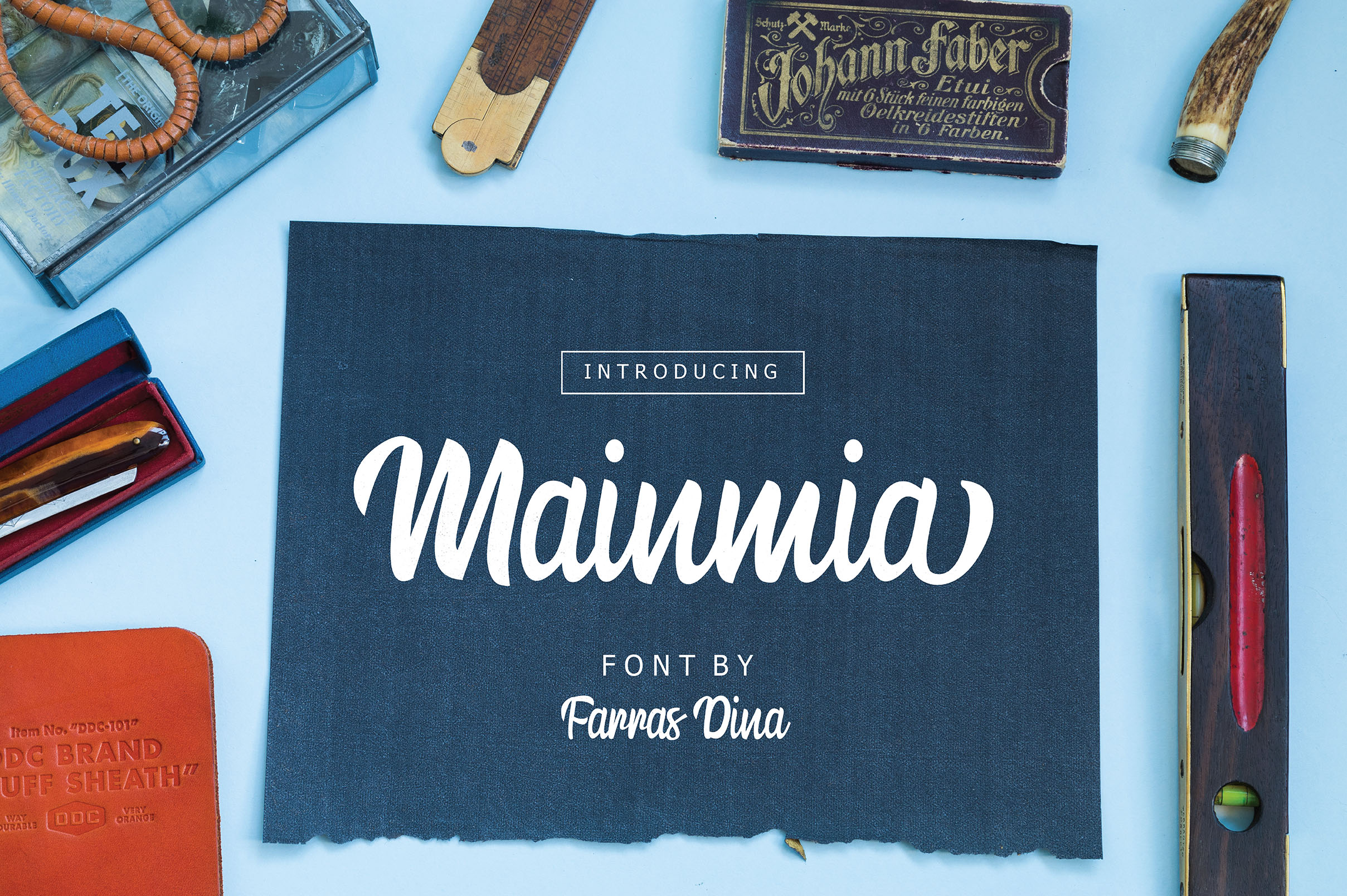 Mainmia Bold Script example image 2