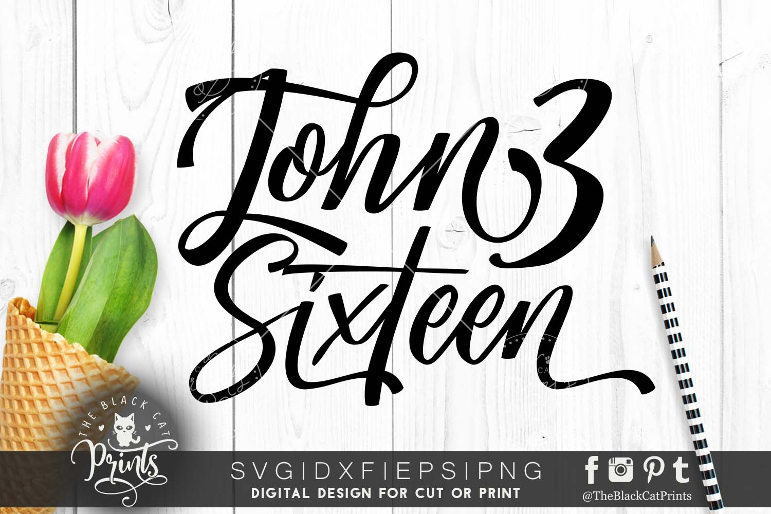 John 316 SVG DXF PNG EPS example image 1