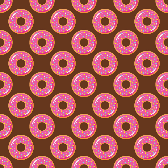 Collection Of Donuts example image 9