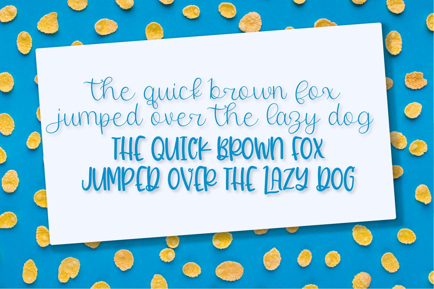 Twirly Font Duo - A Fun Hand Lettered Script & Print Pair example image 4