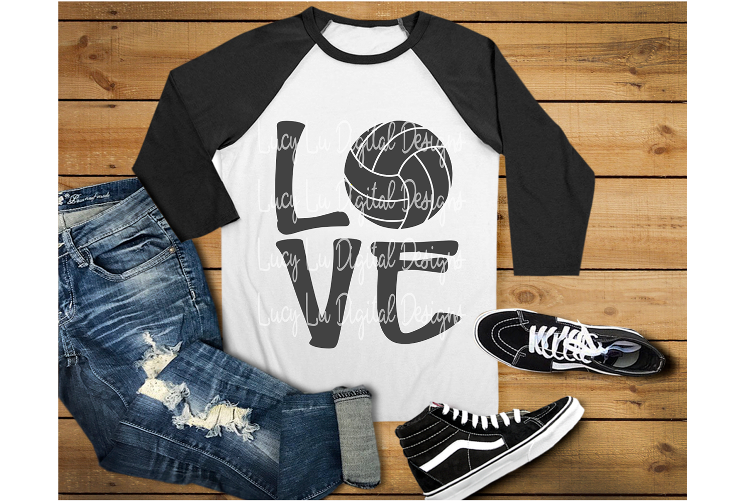 Volleyball Love example image 3