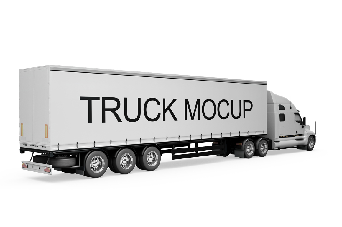 Truck Mockup example image 9