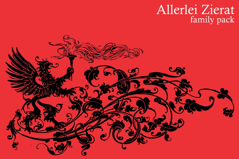Allerlei Zierat (PACK 5 FONTS) example image 5