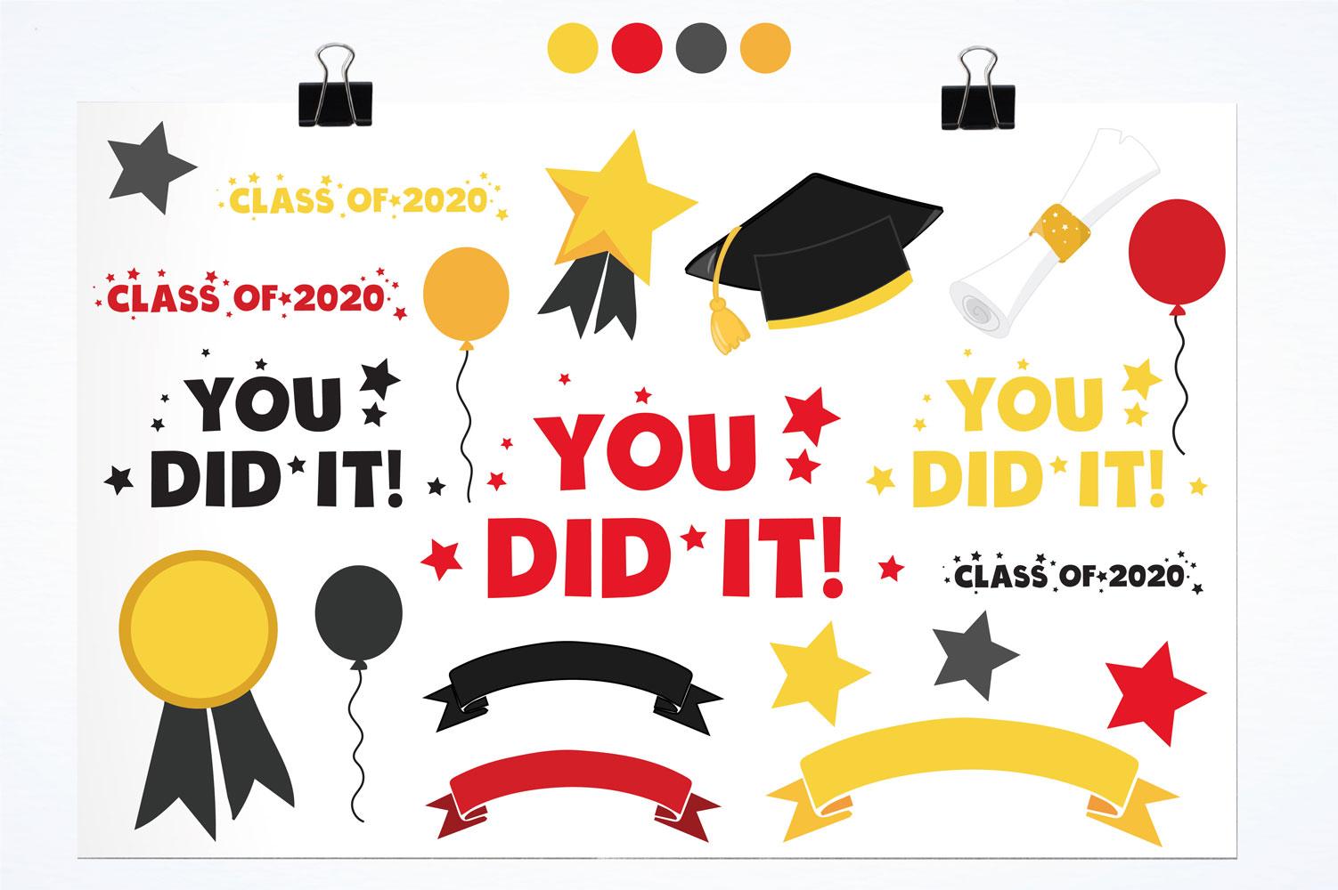 Graduation Class Cute Graphics example image 2
