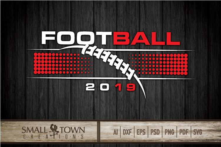 Football, Football ball, Team logo, PRINT, CUT & DESIGN example image 5