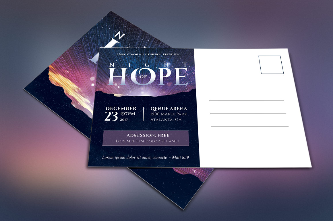 Christmas Hope Cantata Flyer Template example image 2
