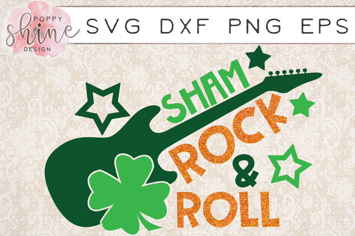 St. Patrick's Day Bundle of 4 SVG PNG EPS DXF Cutting Files example image 3