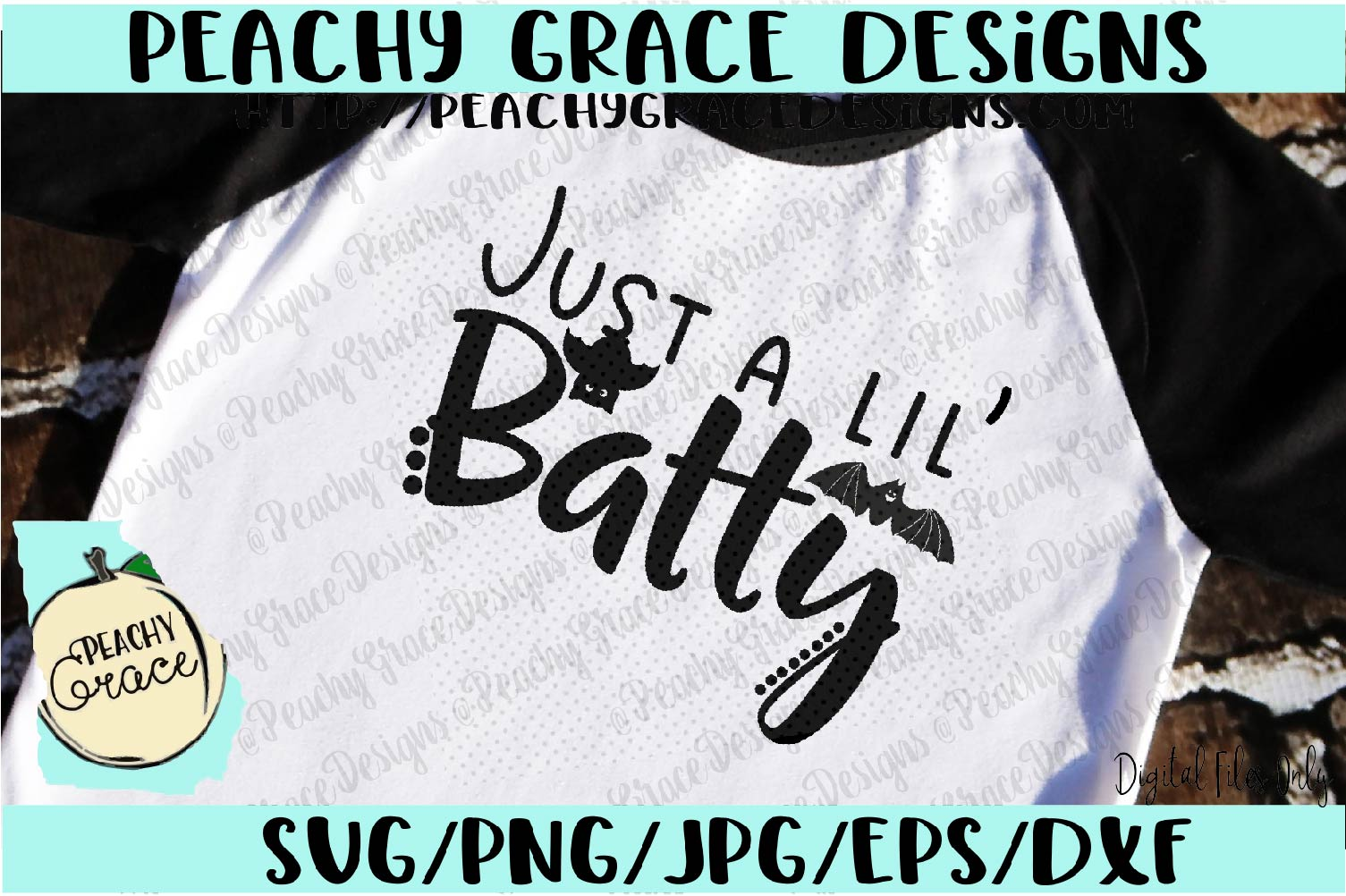 Just a Lil' Batty SVG example image 2