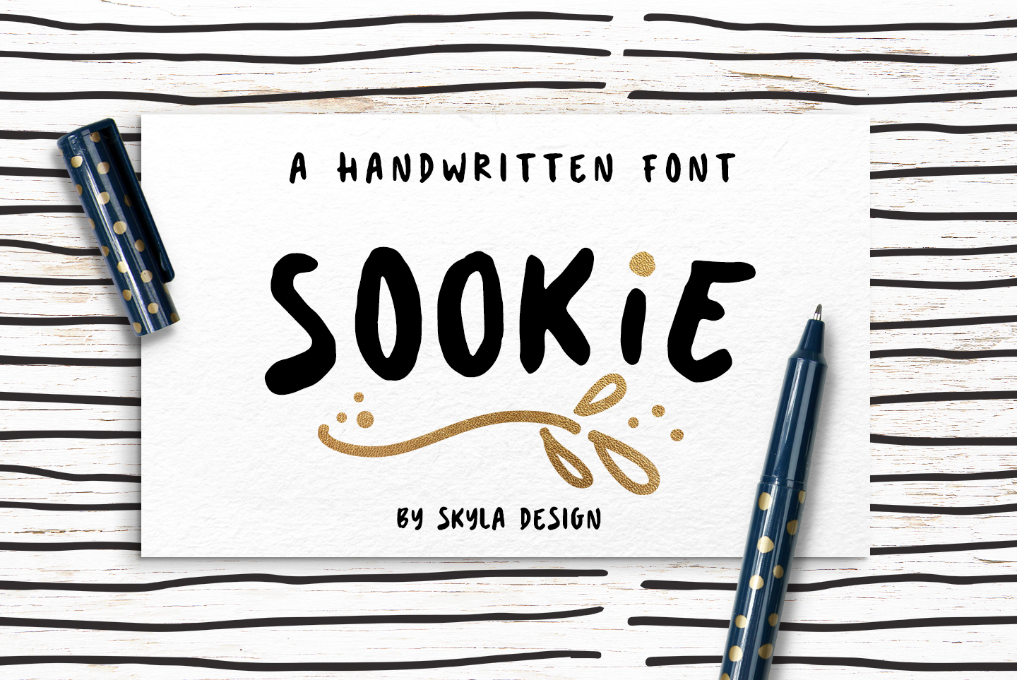Cute handwritten font, Sookie example image 1