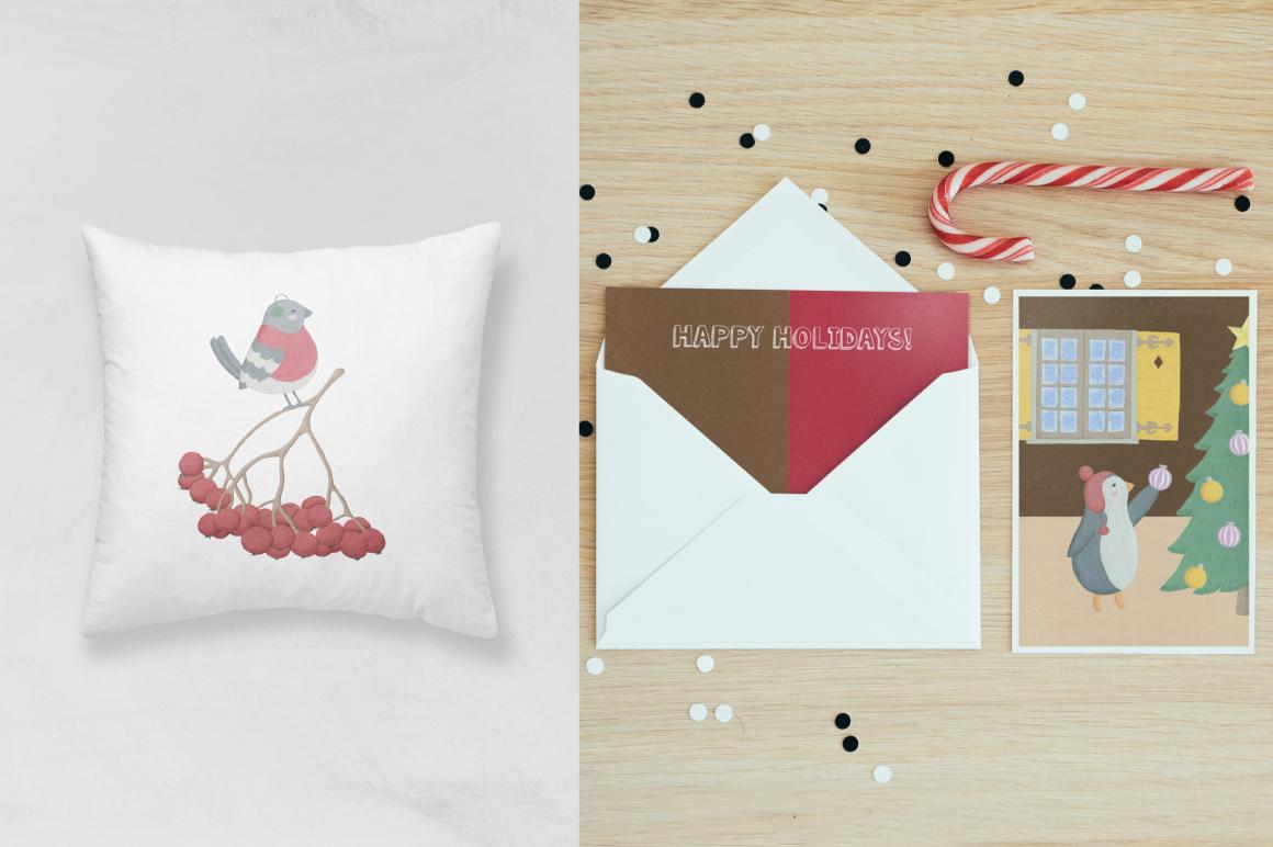 Christmas Gouache Collection example image 7