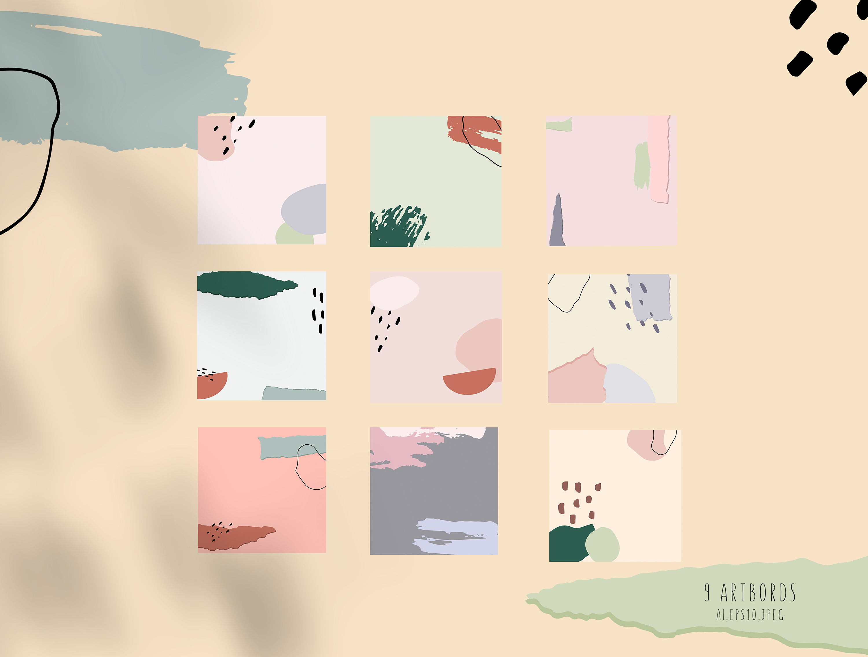 Abstract Shapes. Graphic Collection example image 5