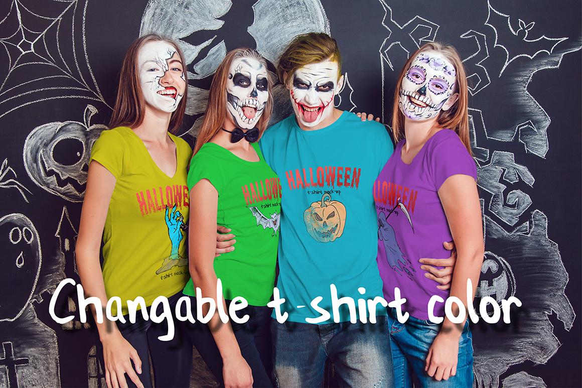 Halloween T-Shirt Mock-Up example image 8