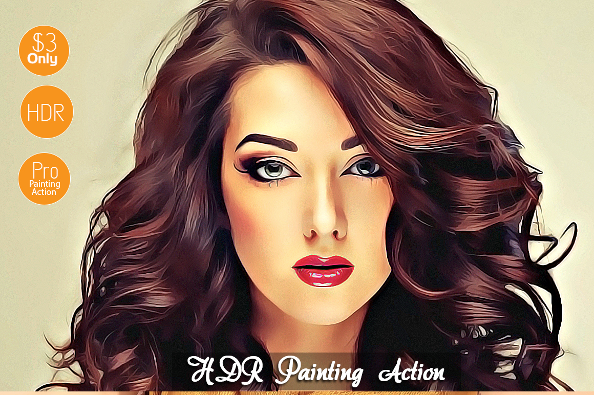HDR-Painting-Action example image 1