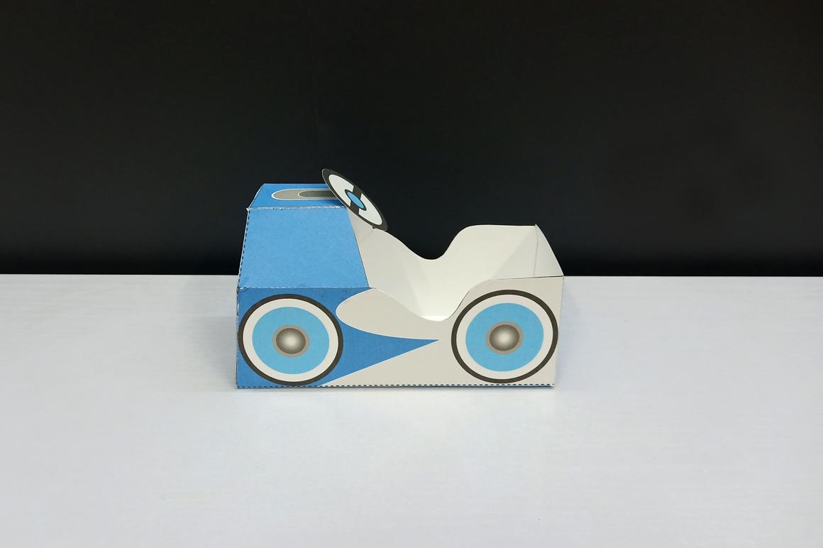 DIY Pedal car favor - 3d papercraft example image 5