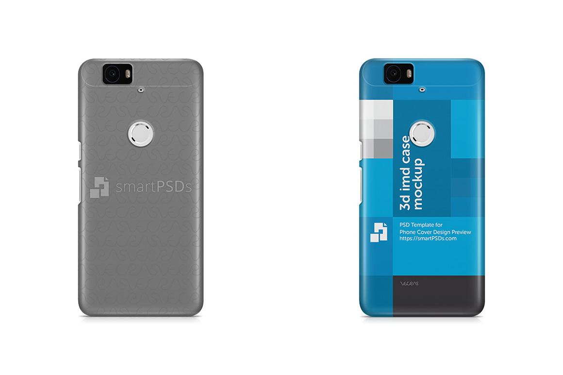 Google Nexus 6P 3d IMD Mobile Case Design Mockup 2012 example image 3
