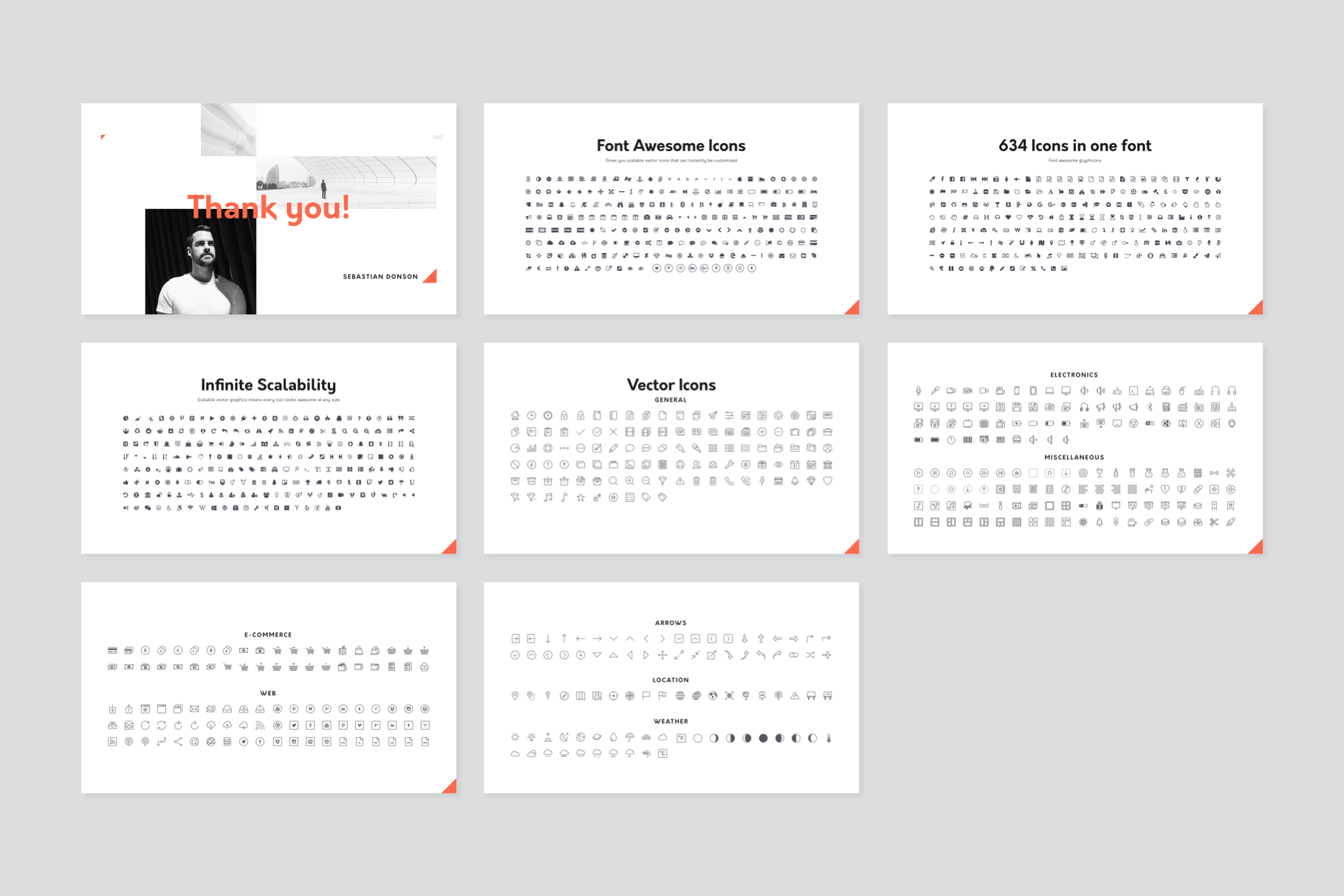 Corp Keynote Presentation Template example image 12