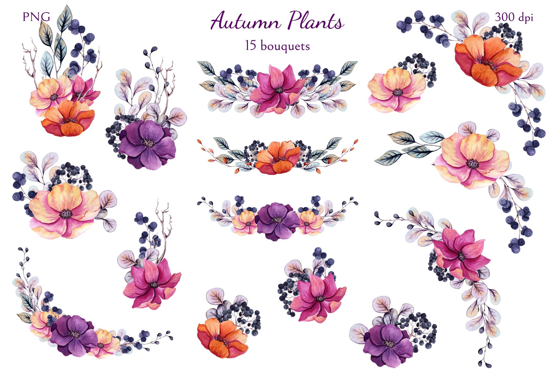 Autumn Plants example image 4