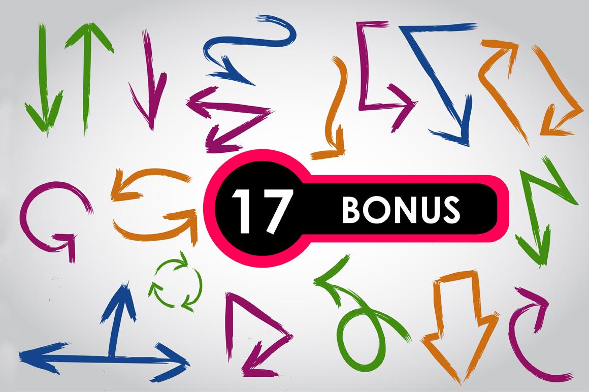 17 Arrows bundle. Vol. 3 example image 2