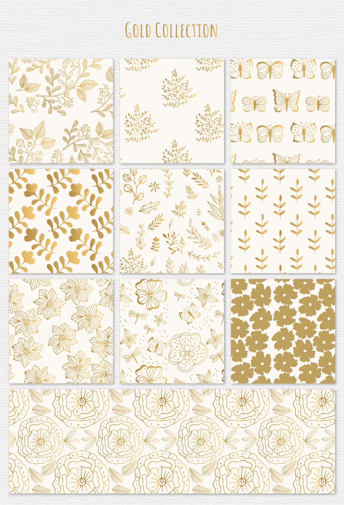 30 Botanic Patterns example image 4