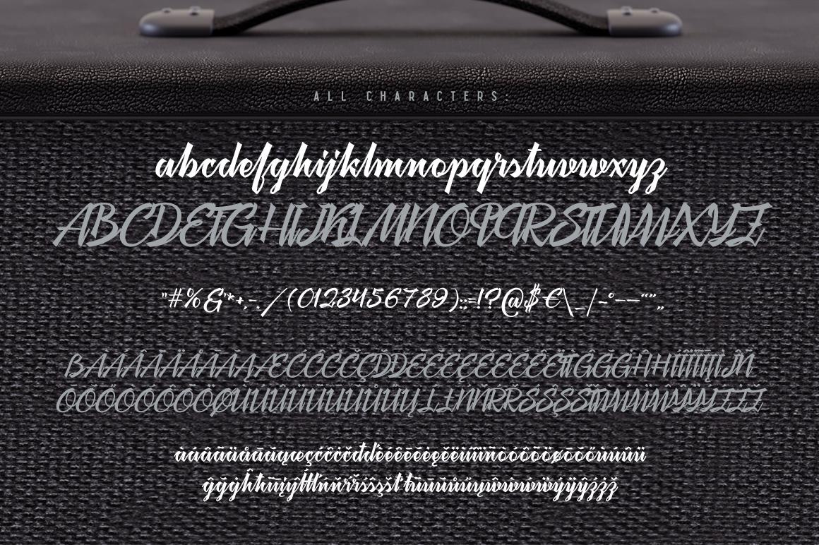 Megawatt font + Bonus example image 5