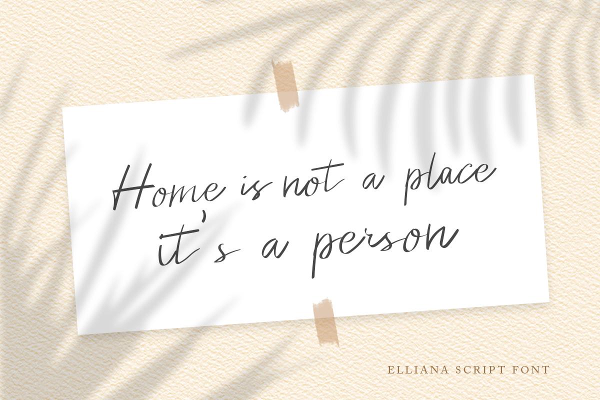 Elliana - Handwritten Script example image 3