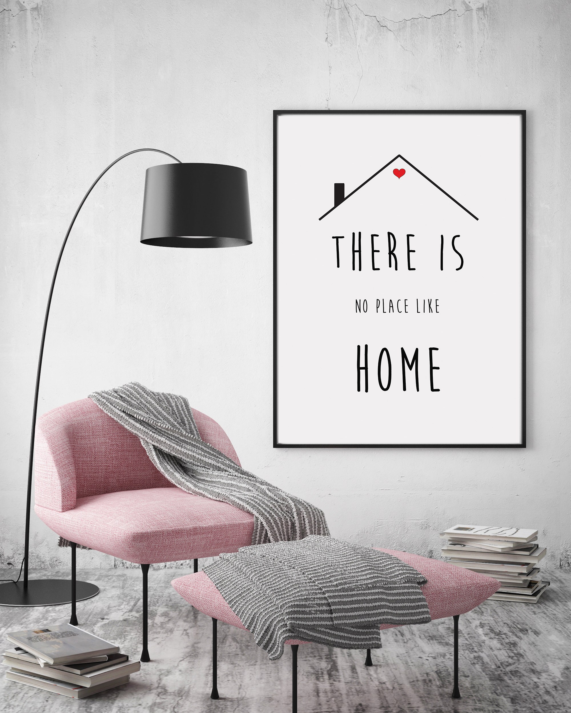 Minimalist Wall Art Quotes, Printable Home Quotes Poster example image 4