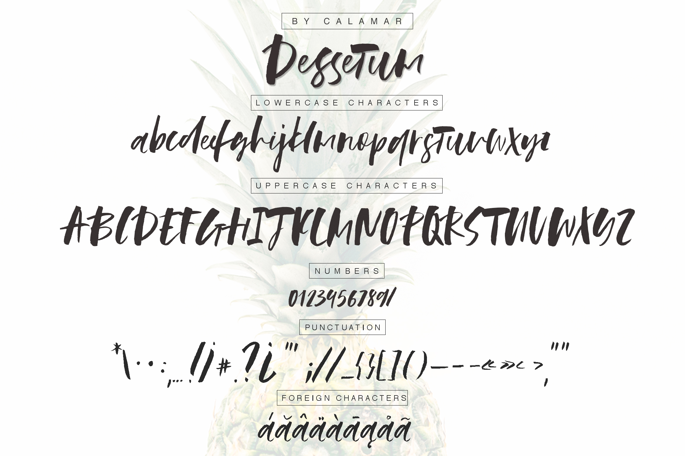 Dessetum Font example image 3