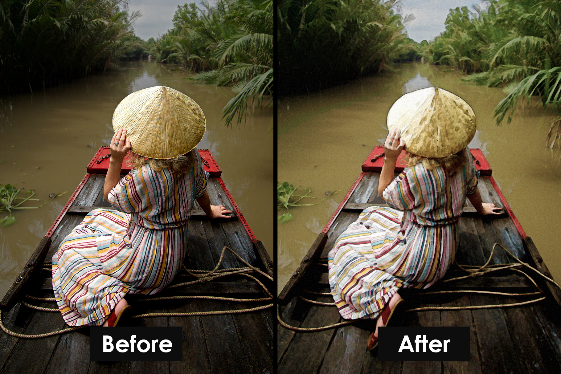 Watercolour Photoshop Action example image 3