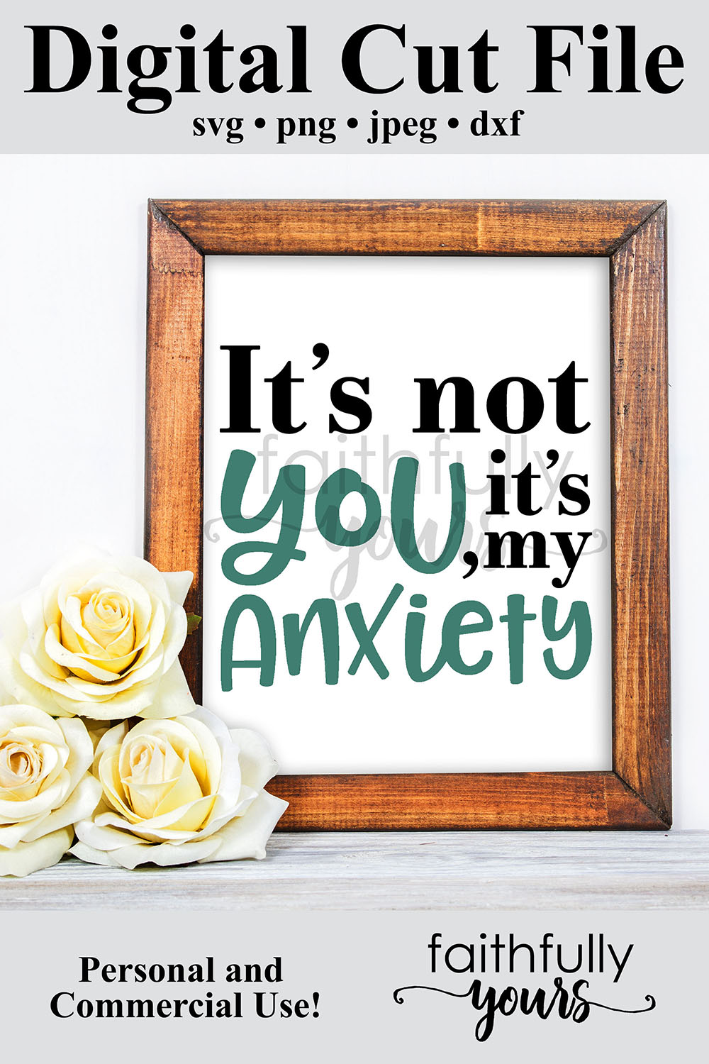 It's not you, it's my anxiety. Sarcastic homebody svg example image 6