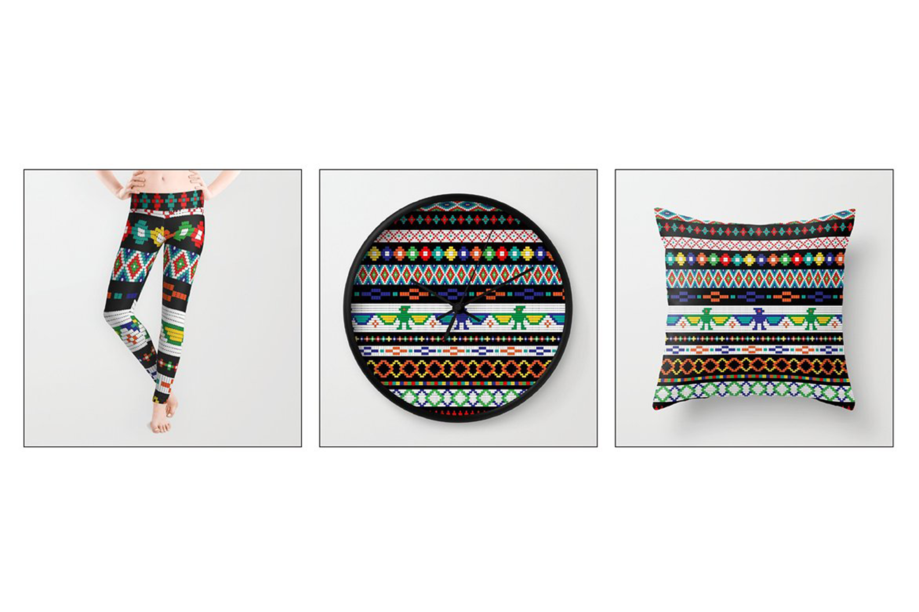 Native American Beaded Border Patterns example image 5