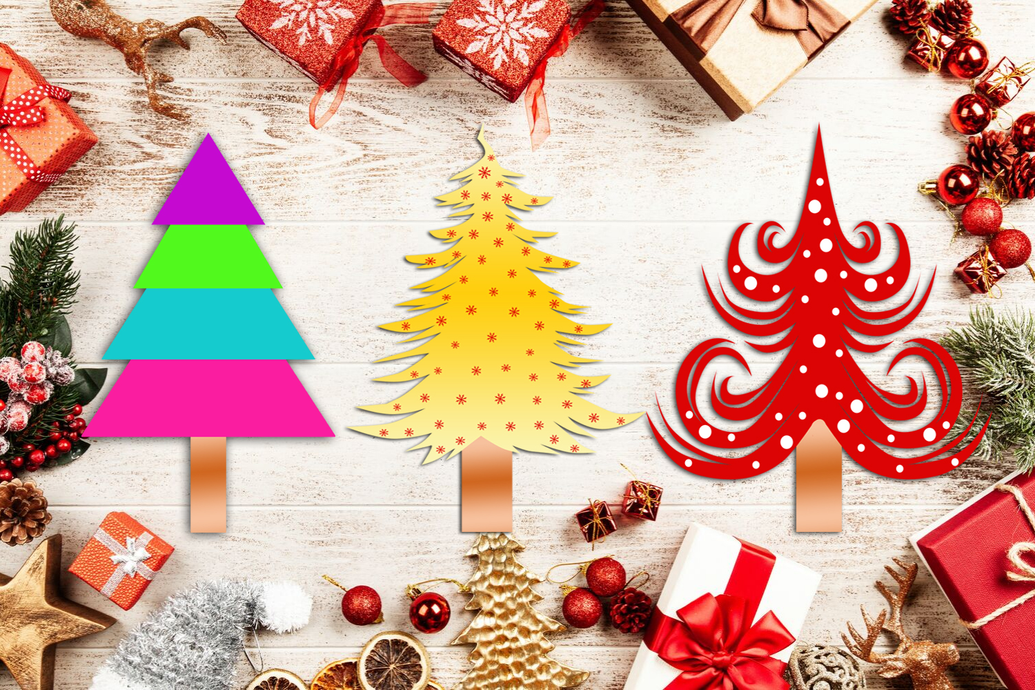 Cute Christmas Clipart- Cute Holiday Graphics Clipart example image 6