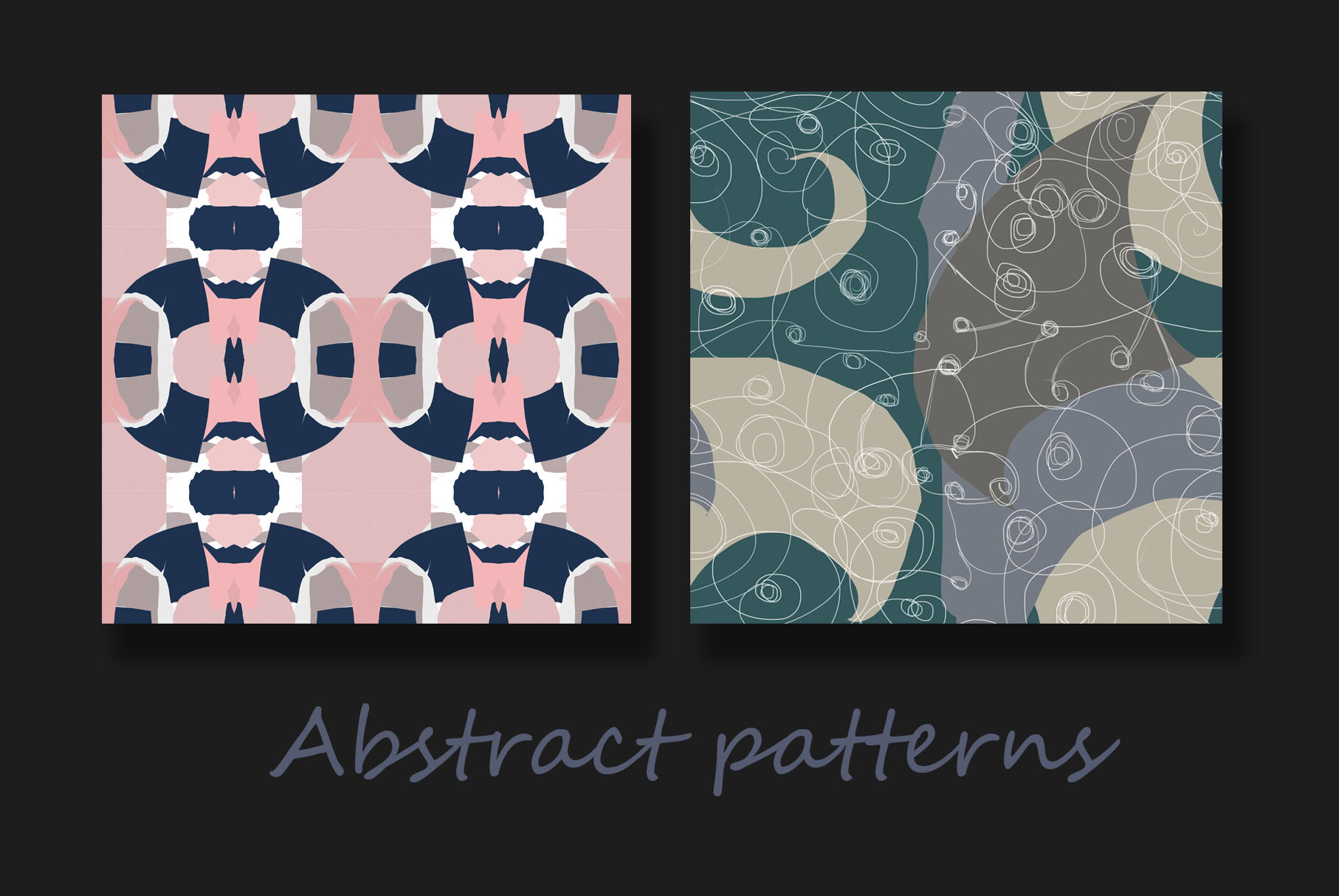 Colorful abstract patterns example image 4