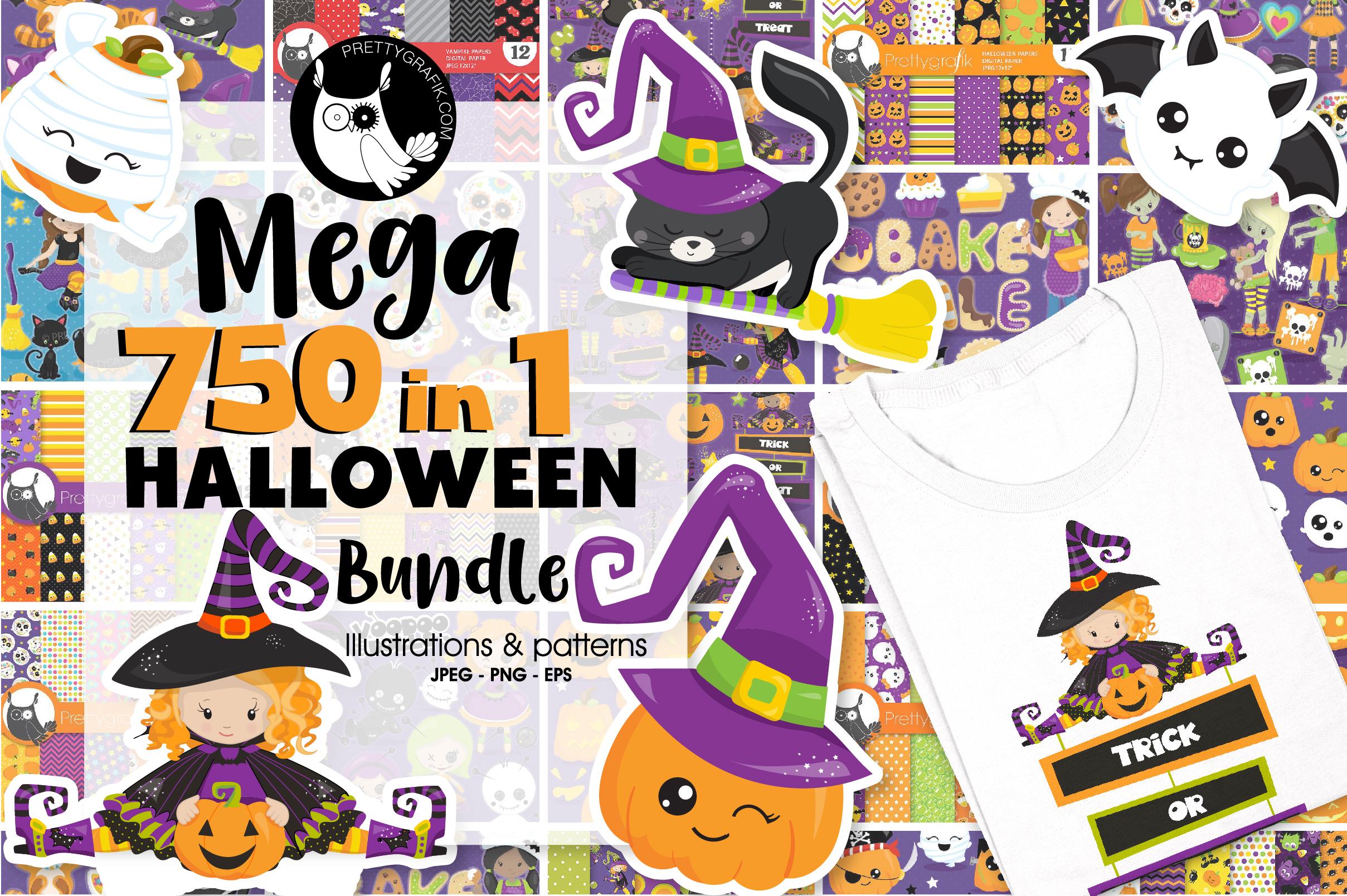 750 in 1 - Halloween Bundle - 95OFF - $10 instead of $150 ! example image 1