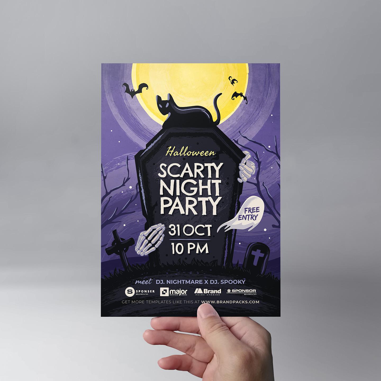 Halloween Flyer Template example image 9