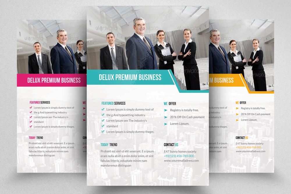 6 Creative Business Flyers Bundle example image 3