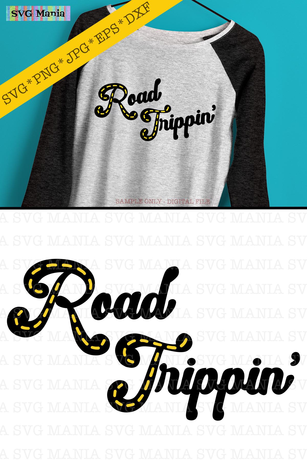 Road Trip Shirt SVG, Matching Vacation Shirt SVG File, SVG example image 2