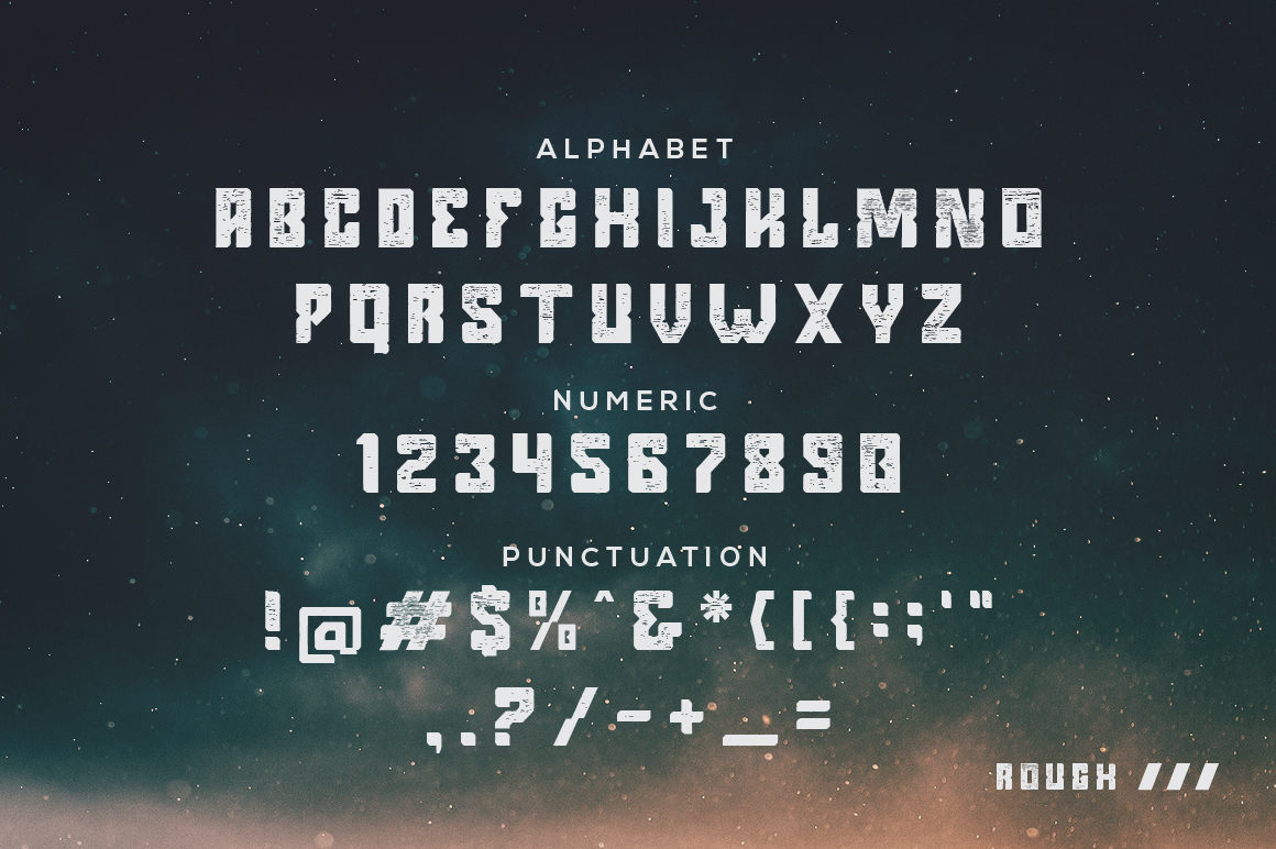 Argenos - Futuristic Font example image 2
