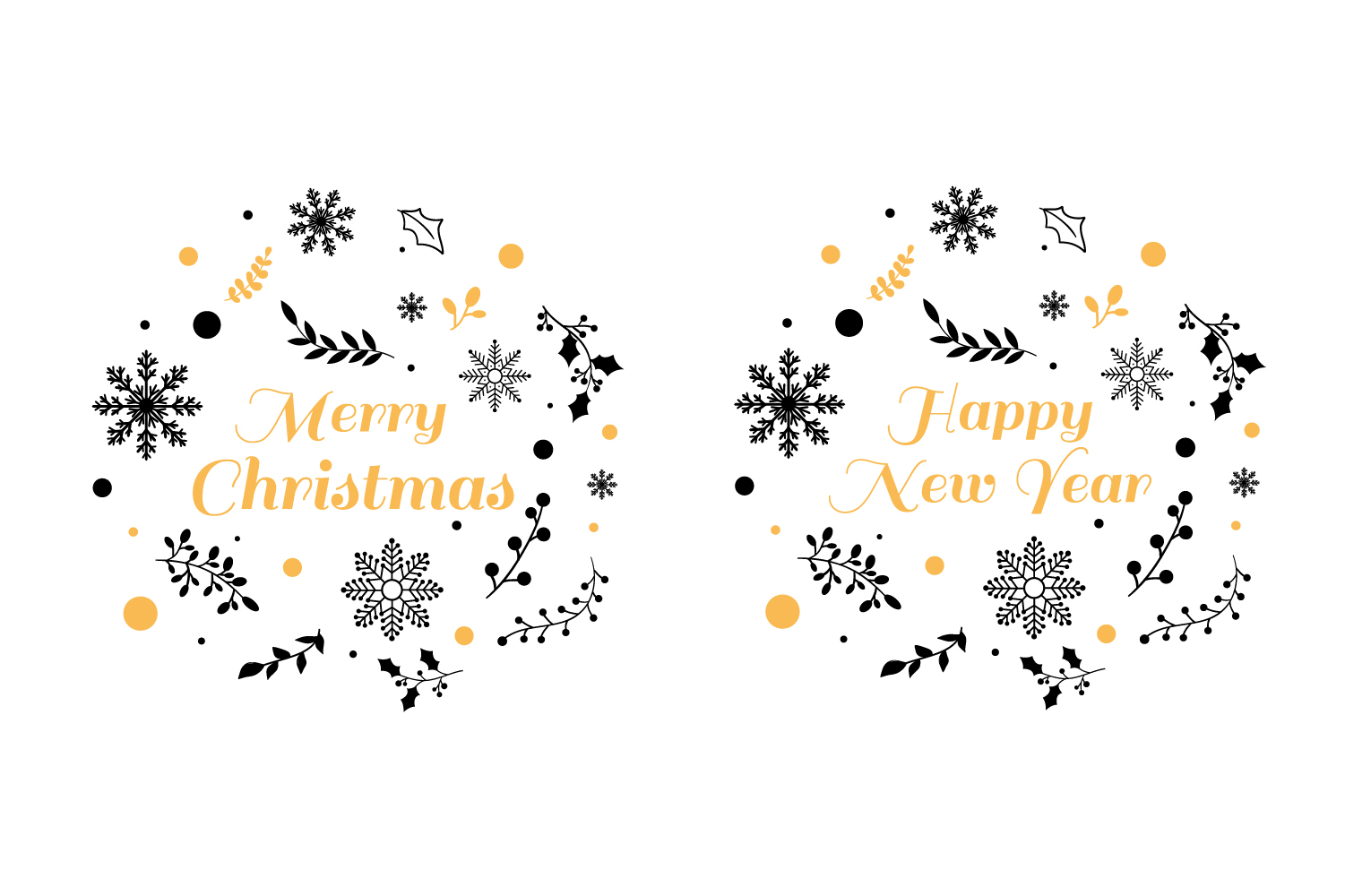 Christmas typography SVG Quote example image 2