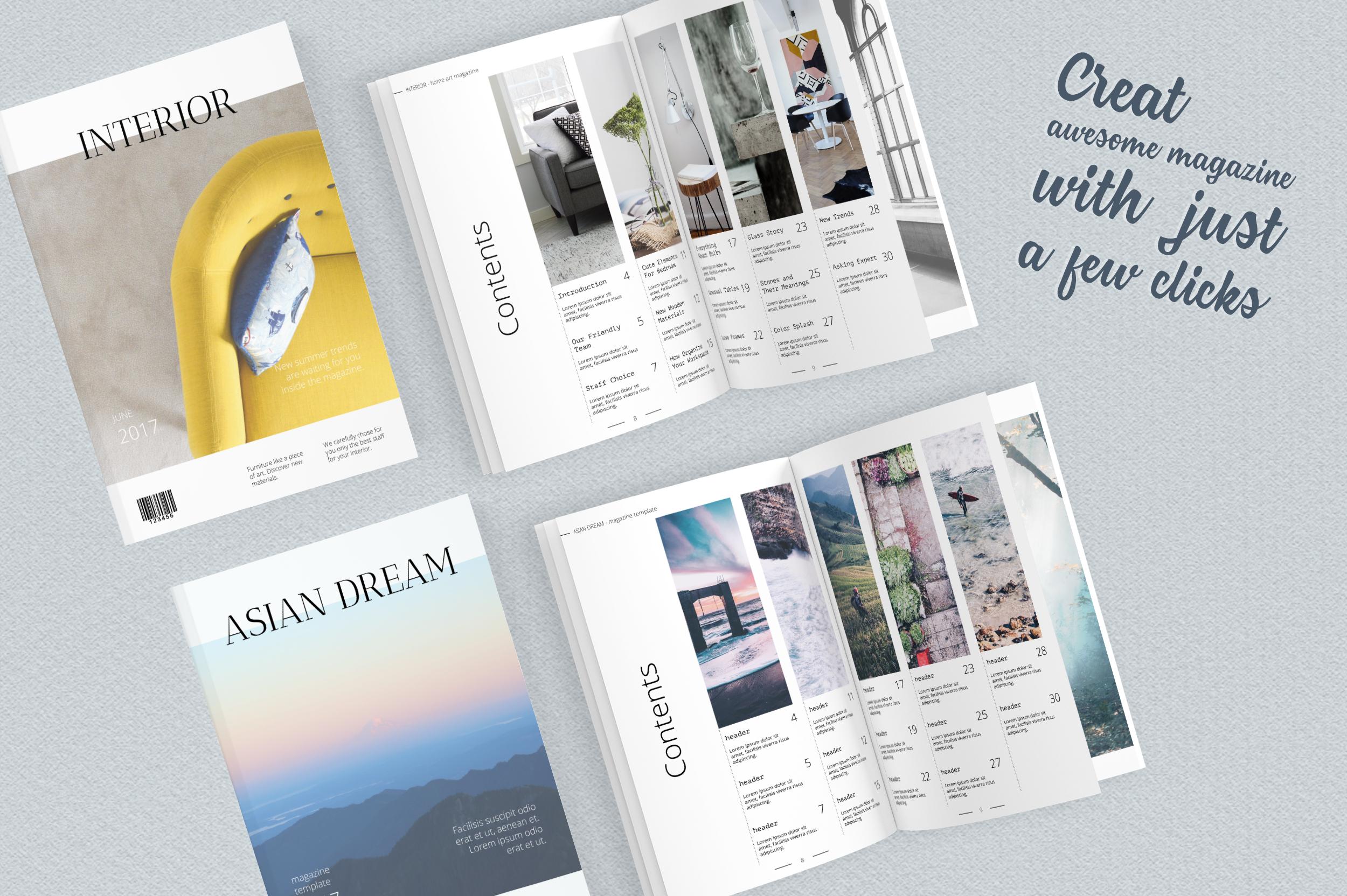 Asian Dream Magazine Template example image 5