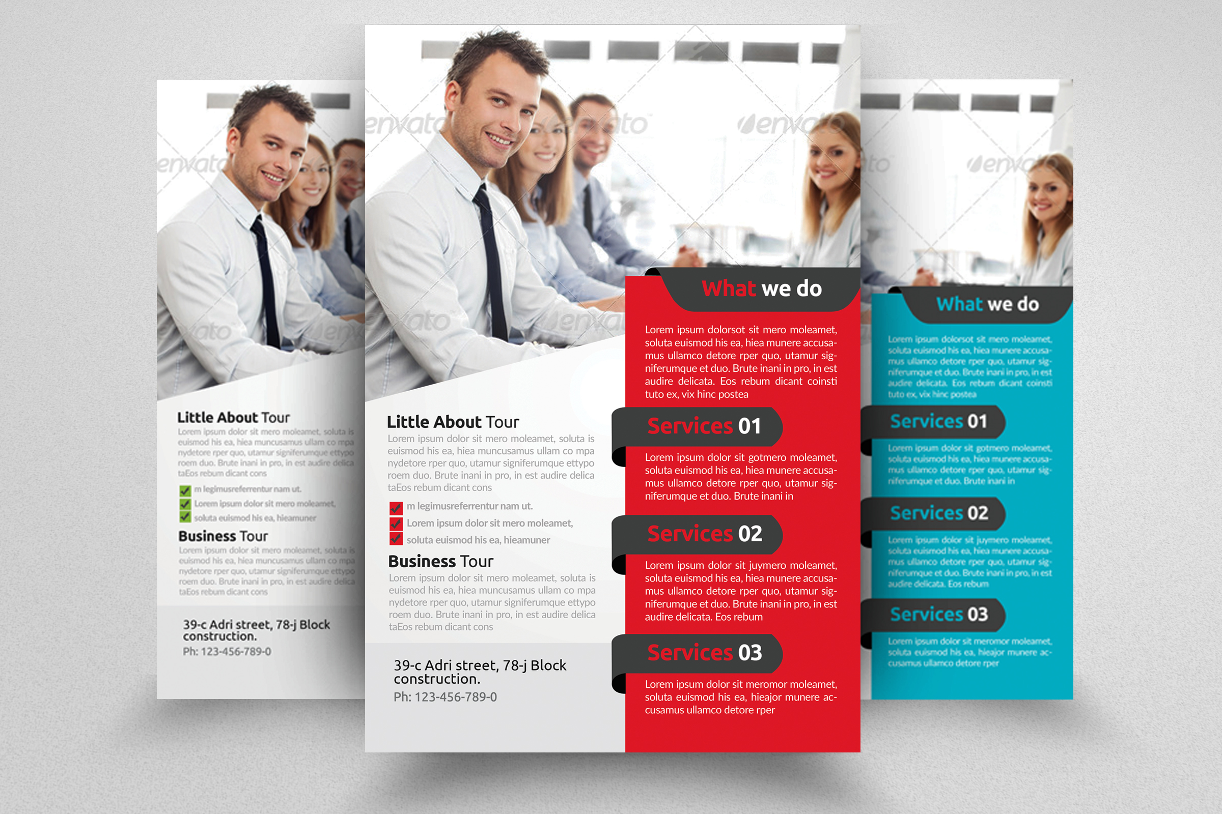 7 Corporate Business Flyers Bundle example image 3