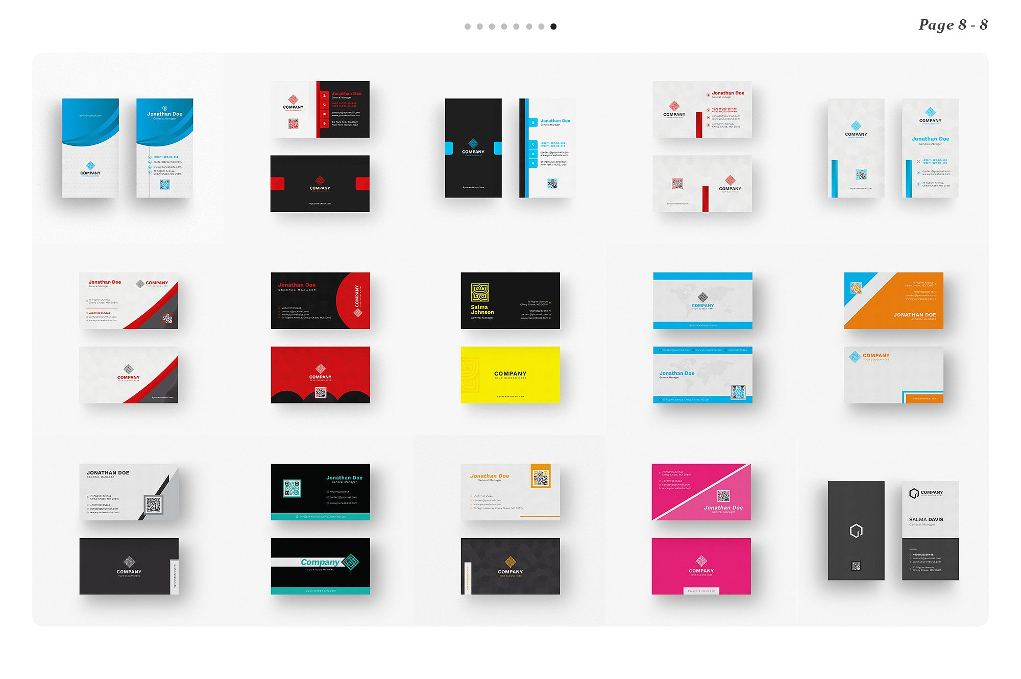 120 Business Card Bundle example image 15
