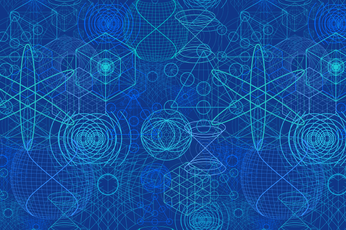 {Sacred Geometry} Vector PATTERNS example image 4
