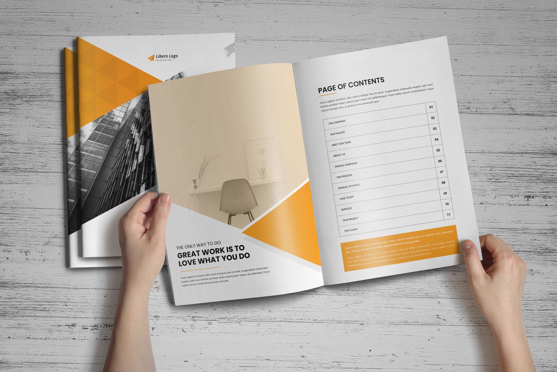 Annual Report Design v6 example image 2