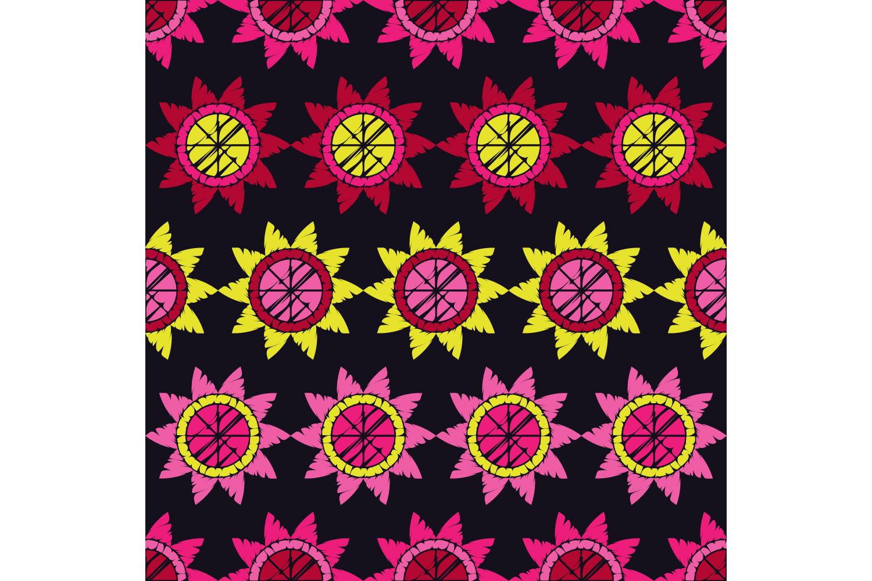 Polka dot ornament. Set of 10 seamless patterns. example image 1