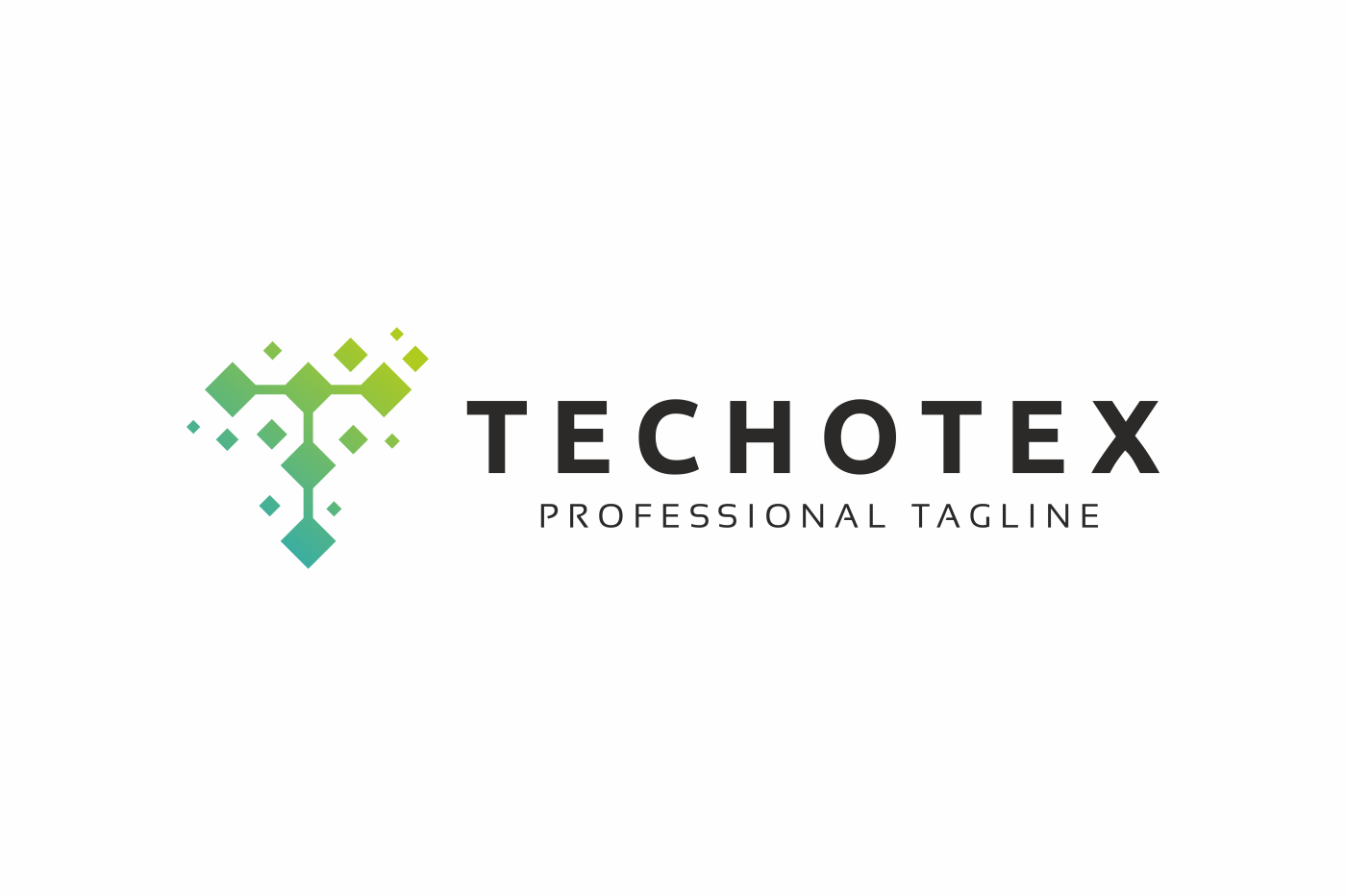 Techotex T Letter Logo example image 3